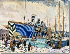Arthur_Lismer_-_Olympic_with_Returned_Soldiers