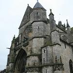 Eglise Notre-Dame de Moret-sur-Loing : façade