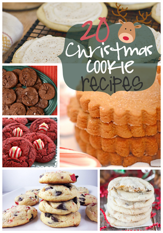20 Christmas Cookie Recipes at GingerSnapCrafts.com #gingersnapcrafts #linkparty #features_thumb[1]