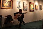 Después del concierto, Francisco Cuenca nos deleitó con un concierto improvisado de guitarra.