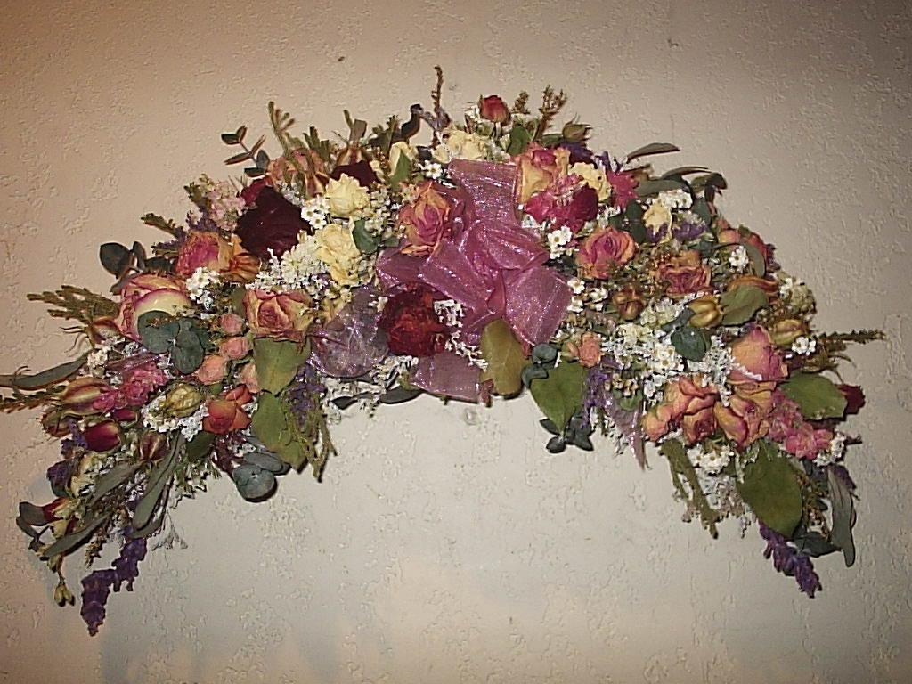 Beautiful Dry Flower Arch