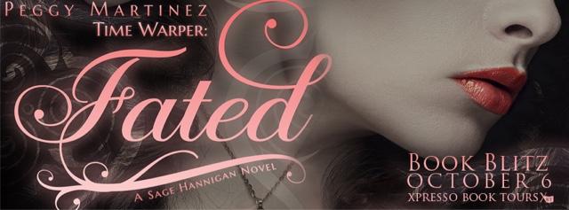 Book Blitz: Time Warper: Fated by Peggy Martinez