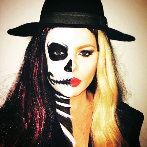 Halloween Makeup Store 3 rickys For This Look Id Recommend Actually Getting The White Halloween Makeup From A Store