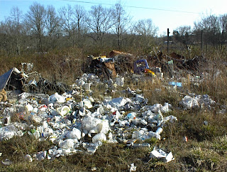 Possible environmental concerns noted during a Phase I EA - open dumping