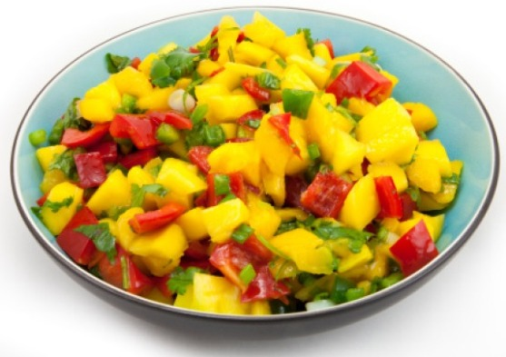 Unique Mango Recipes - Spicy Oriental Mango salad