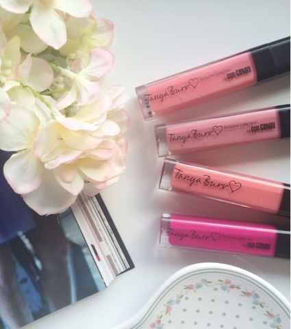 Tanya Burr Cosmetics, Tanya Burr Lipglosses, Tanya Burr lip gloss swatches, Tanya Burr lip gloss review