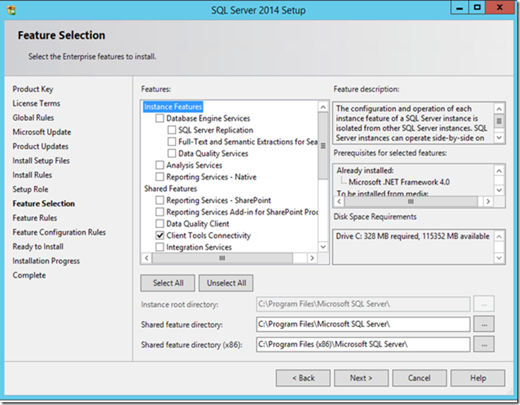 SQL2014Setup