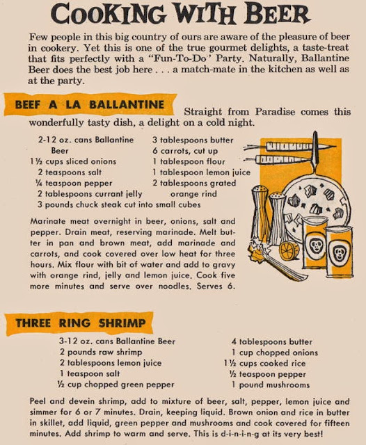 Cooking with Ballantine Beer