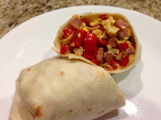 Quick Breakfast Wrap