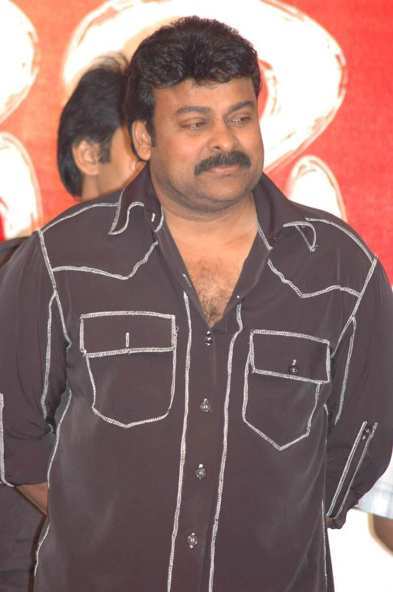 Chiru drives to wedding