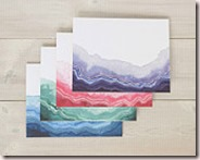Geode Note Card Set