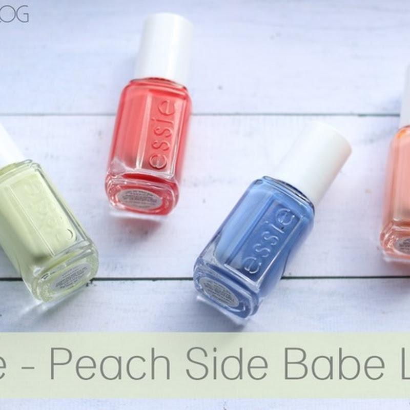[Swatches] Essie–Peach Side Babe LE (US Minis)