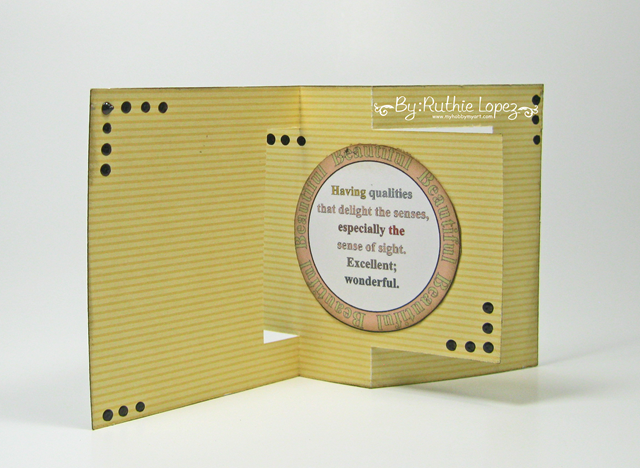 The Cutting Cafe - Square card - Thanksgiving card - Ruthie Lopez. 2