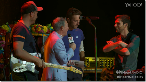 Coldplay iHeartRadio A Head Full Of Dreams album release party-7