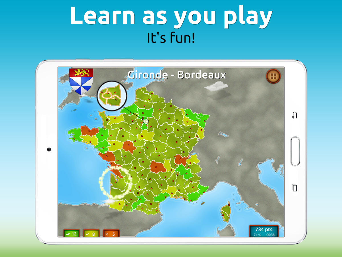 GeoExpert - France Geography Screenshot 6