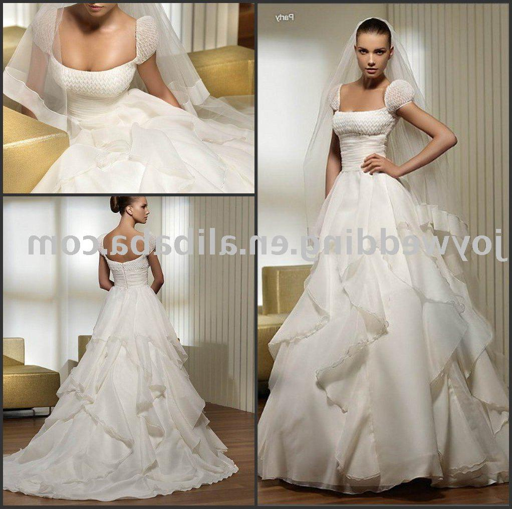 See larger image: Popular new white ivory lace wedding gown W1632