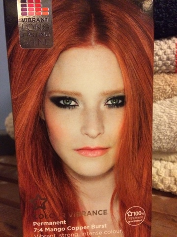 Copper Hair Dye