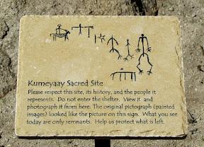 Recreation of this amazing piece of Kumeyaay history.