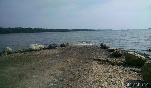 7-9-15 boat ramp at Wharton Point