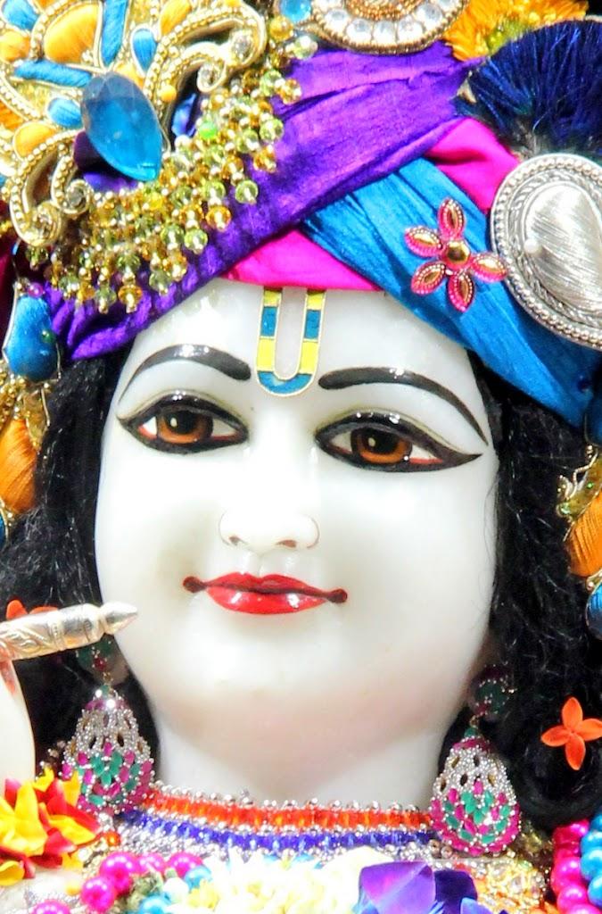 ISKCON Juhu Sringar Deity Darshan 14 Jan 2016 (14)