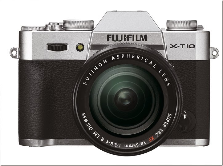 X-T10 front silver 18 55