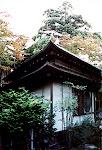 Triangular teahouse, Northern Culture Museum, near Niigata City.