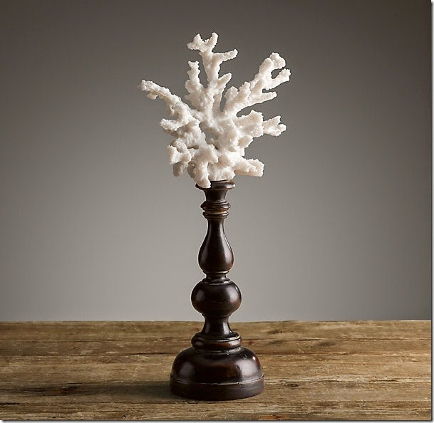 Restoration Hardware Branch Coral on a Pedestal