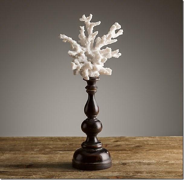 Restoration Hardware Branch Coral on a Pedestal