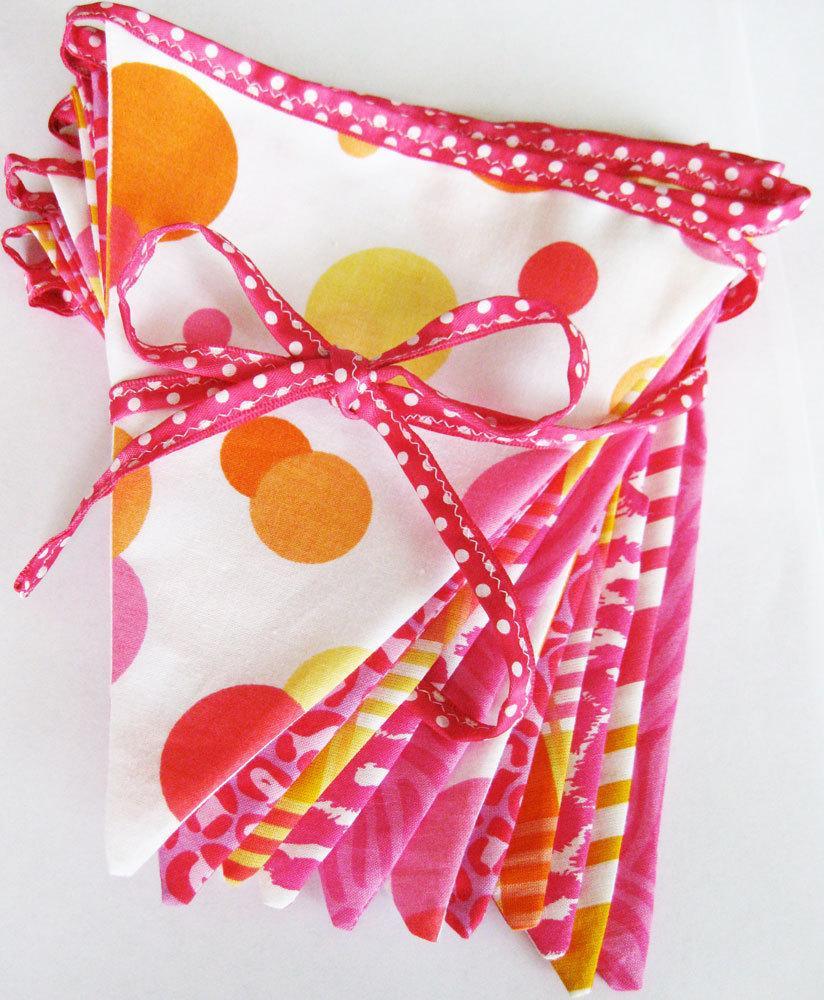 Hot Pink Sensation Fabric