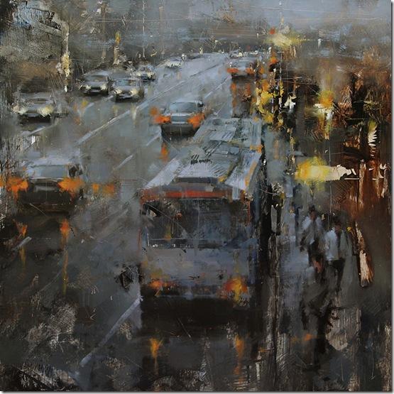 the-bus-stop-Tibor-Nagy-ENKAUSTIKOS