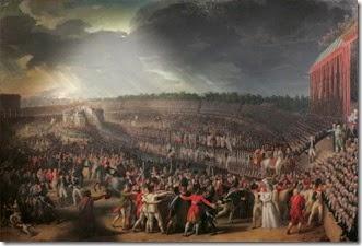 CharlesThevenin - La Fete De La Federation le 14 juillet 1790 - Musée Carnavalet