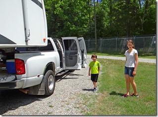 Nate Hannah Josh Camping Kerr Dam 002