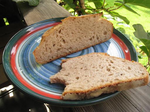 Vermont Sourdough - the crumb (I couldn't wait . . .)