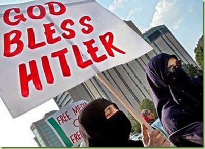 Muslim-Women-Allah-Bless-Hitler-550x399