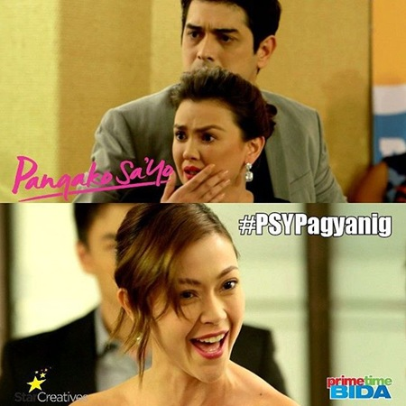 Amor and Claudia slapping scene in Pangako Sa 'Yo