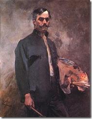 PL_Wojciech_Kossak_Autoportret_z_paleta