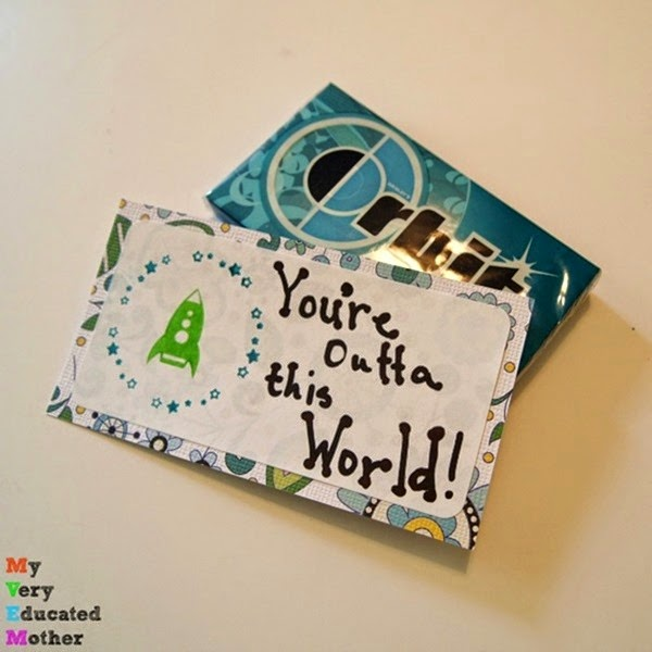 Orbit Gum Gift Idea using PSA Essentials stamps