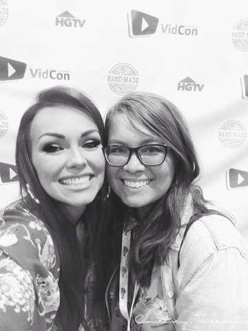 Vidcon 2015 Kandee Johnson