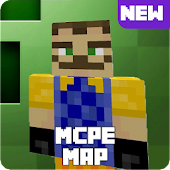 12.  Map Hello Neighbor for MCPE