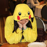 sad pikachu at Anime North 2014 in Mississauga, Ontario, Canada