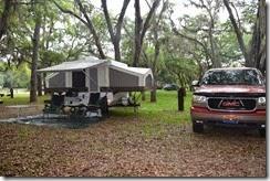 Our campsite 2