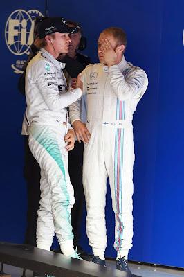 Нико Росберг и Вальтери Боттас проигрывают квалификацию на Гран-при Австрии 2014