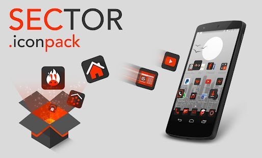 Sector - Icon pack- screenshot thumbnail