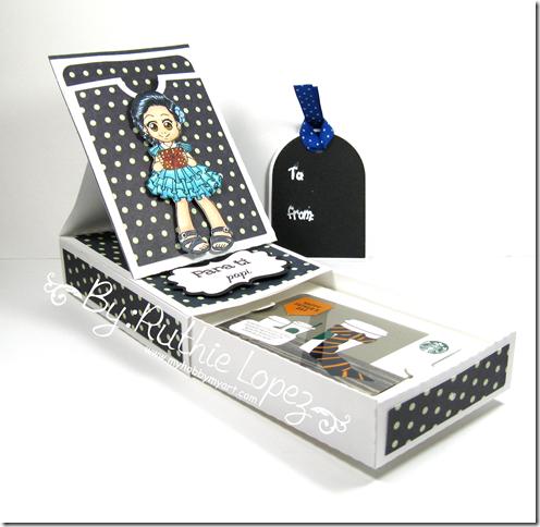 Zuri Artsy Craftsy -  Beatriz - Gift card box with pocket easel card - Ruthie Lopez 4