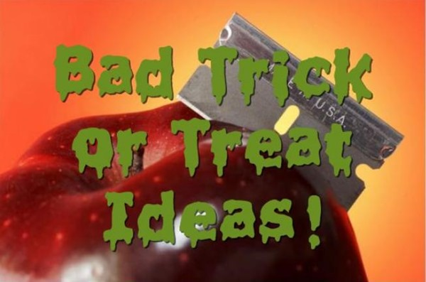 bad trick or treat candy ideas