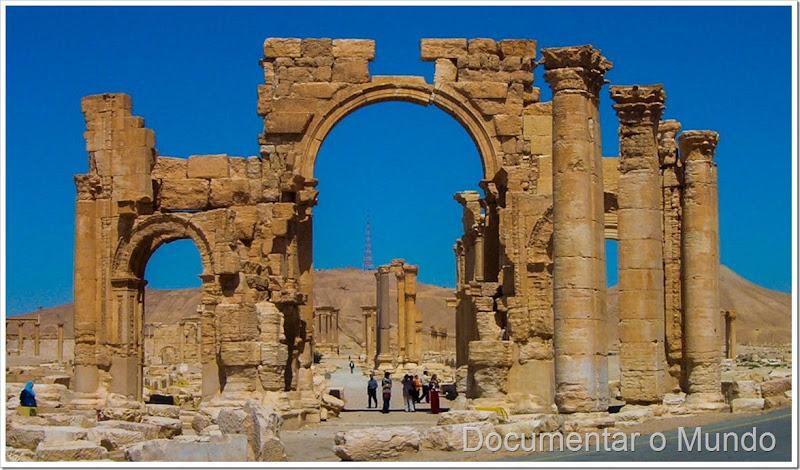 Arco do Triunfo em Palmira