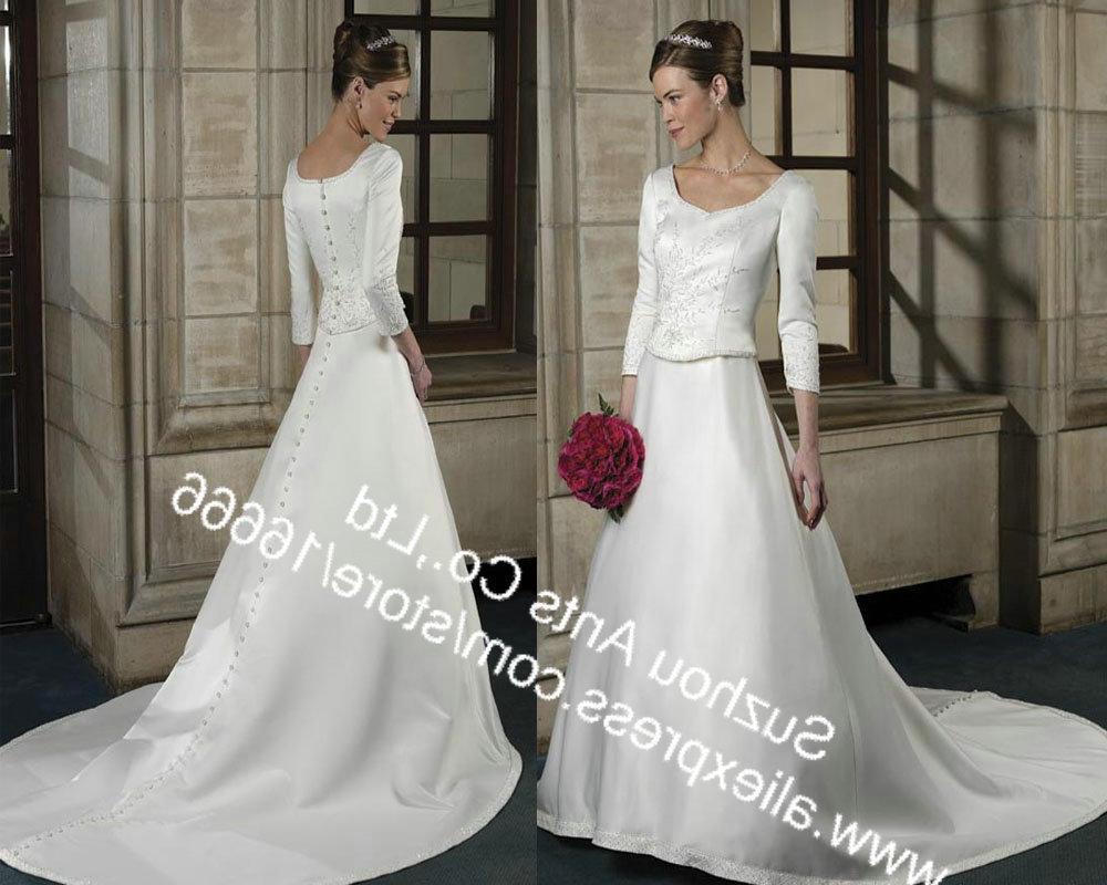 Buy Long Sleeve Wedding Dress
