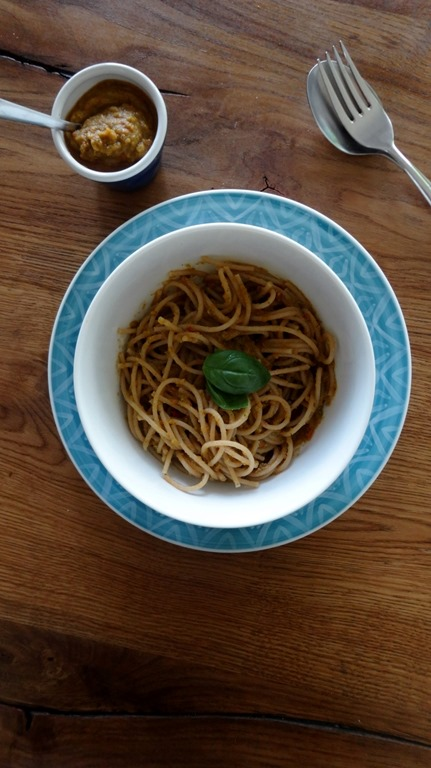 Tomato - Zucchini - Pesto