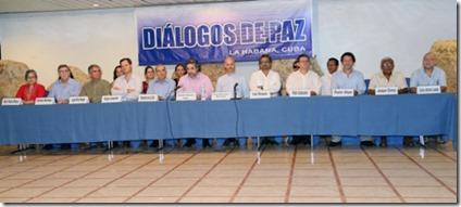 Dialogos Paz - La Habana