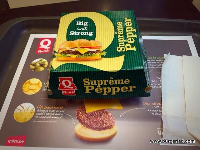Quick Burger Supreme Pepper
